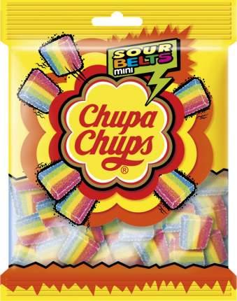 Мармелад жевательный Chupa chups Sour belts mini 150 г