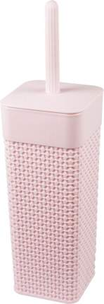 Ершик для туалета Plast Team WC OSLO 104х104х365 мм лиловый