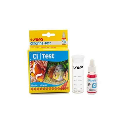 Тест для воды Sera Cl-Test (хлор), 15 мл