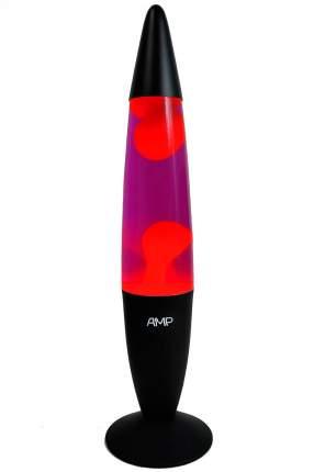 Лава лампа Amperia Hypno Красная/Фиолетовая (48 см)