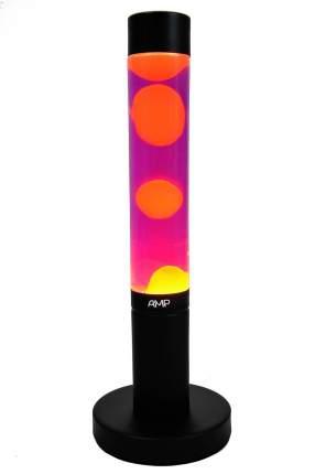Лава лампа Amperia Slim Оранжевая/Фиолетовая (39 см)