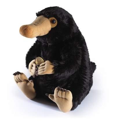 Мягкая игрушка The Noble Collection Fantastic Beasts Niffler Plush Нюхлер с монетой черный