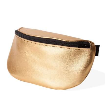 Поясная сумка женская Никита Грузовик NG-LTHR золотистая