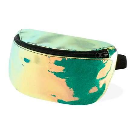 Поясная сумка женская Никита Грузовик NG-NLTHR желто-зеленая