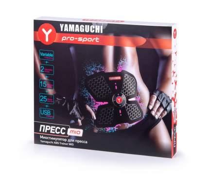 Миостимулятор для пресса Yamaguchi ABS Trainer MIO черный