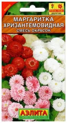 Семена цветов Аэлита Маргаритка Хризантемовидная смесь окрасок двулетник 0,05 г