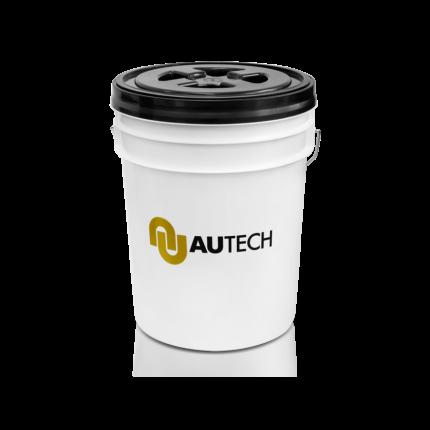 Ведро для мойки автомобиля с крышкой и пескоотделителем AuTech Au-1052