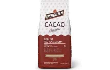 Какао порошок Van Houten  100%  robust red cameroon 20-22% 1 кг