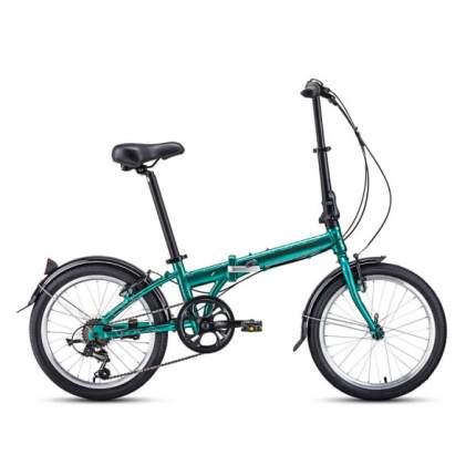 """Велосипед Forward Enigma 20 2.0 AL 2020 11"""" зеленый/коричневый"""