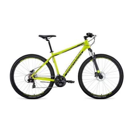 """Велосипед Forward Apache 29 3.0 disc 2020 21"""" желтый/черный"""