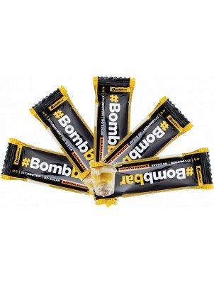 Батончик Bombbar Protein Bar In Chocolate 5 40 г, 5 шт., банановый пудинг