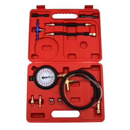 Набор для проверки давления топлива в системе(бензин) Car-tool CT-B0128