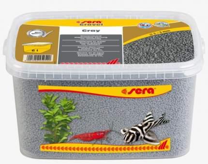 Грунт для аквариума Gravel Gray (Серый) d 2-3 мм 6 л