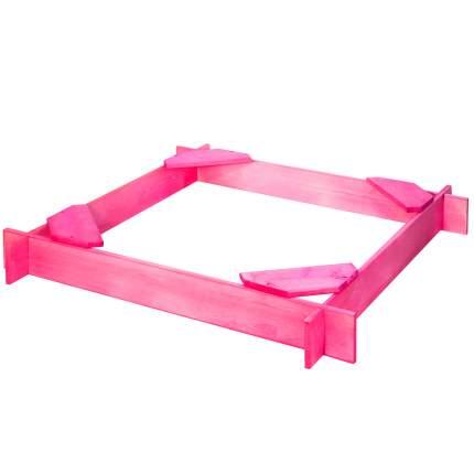 Деревянная песочница PAREMO Нимфа цв. Розовый PS119-01