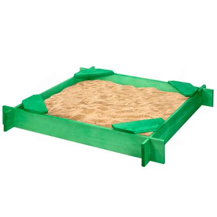 Деревянная песочница PAREMO Ника цв. Зеленый PS119-02