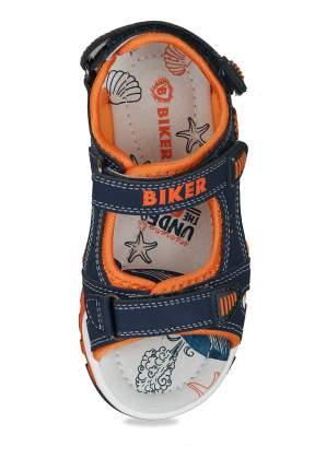 Сандалии для мальчиков Biker, цв. темно-синий, р-р 26