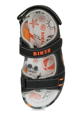Сандалии для мальчиков Biker, цв. черный, р-р 26