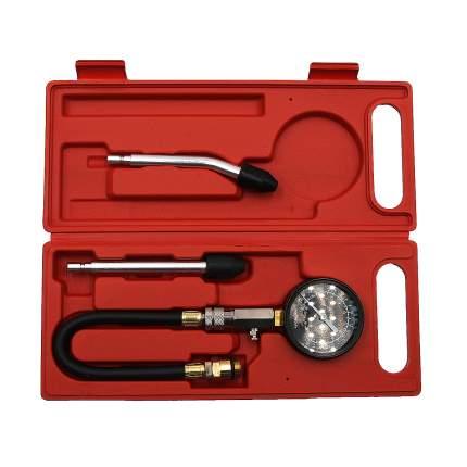 Компрессометр бензиновый с двумя жесткими удилинителями Car-tool CT-N0109