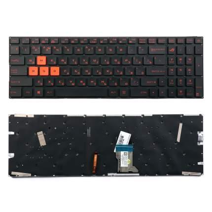 Клавиатура для ноутбука OEM Asus FX502, FX502V, FX502VM, FX502VD Series (0KNB0-6615US00)