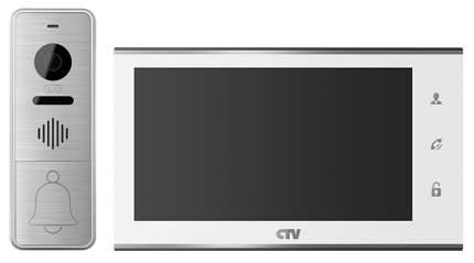 Комплект видеодомофона CTV-DP4705AHD - Белый