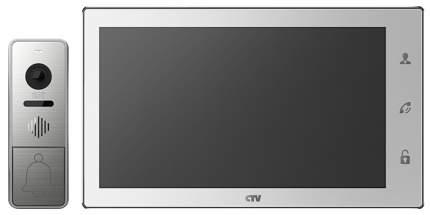 Комплект видеодомофона CTV-DP4102AHD - Белый