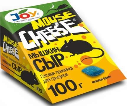 Средство от грызунов Joy Брикет мягкий для истребления мышей Мышкин сыр 100 г
