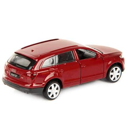 """Машина металлическая """"Audi Q7"""", инерционная (цвет: красный)"""