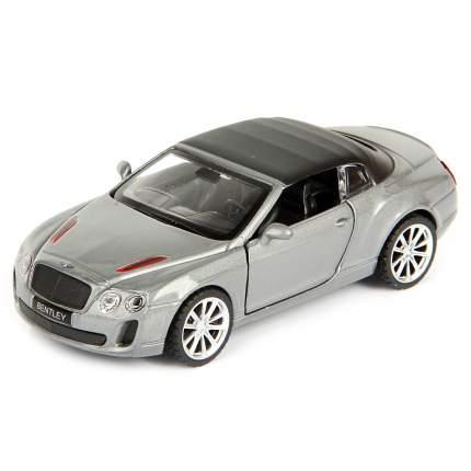 Машина металлическая инерционная Bentley Continental Supersports Convertible ISR