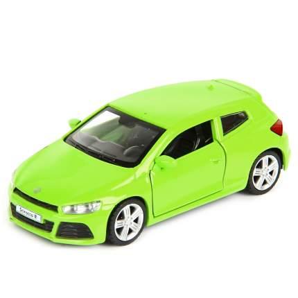 """Машина металлическая """"Volkswagen Scirocco A6 R"""", инерционная (цвет: зеленый)"""