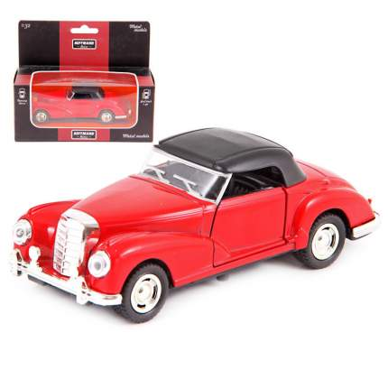Машина металлическая Hoffmann инерционная Retro Classic цвет красный