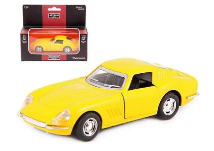 Машина металлическая Hoffmann инерционная Retro Gracia цвет желтый