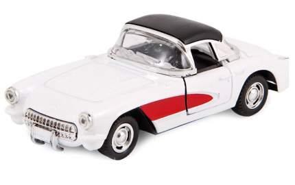 Машина металлическая Hoffmann инерционная Retro Sport цвет белый
