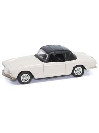 Машина металлическая Hoffmann инерционная Retro Style цвет белый