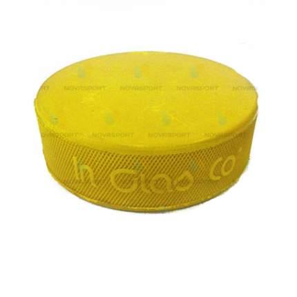 Шайба хоккейная VEGUM (Тренировочная, желтая)