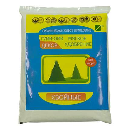 Органоминеральное удобрение БашИнком Гуми-Оми хвойные 0,5 кг