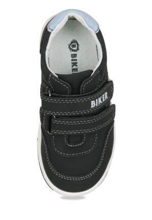 Полуботинки для мальчиков Biker, цв. черный, р-р 26