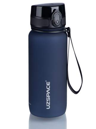 Бутылка для Воды UZSPACE Colorful Frosted 650 мл / 3037/darkblue