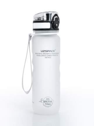 Бутылка для Воды UZSPACE Sports Bottle 500 мл / 3044/white