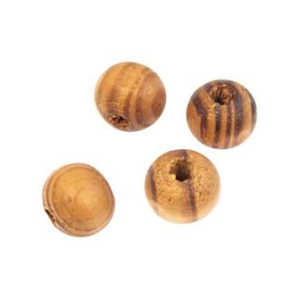 Деревянные бусины Астра WDB0019 микс, 9х10 мм, 30 шт.