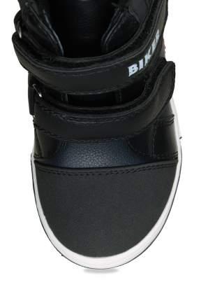 Ботинки для мальчиков Biker, цв. черный, р-р 26