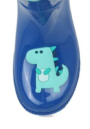 Резиновые сапоги для мальчиков Biker, цв. синий, р-р 26