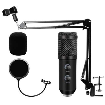 Микрофон 2emarket BM 900 Black