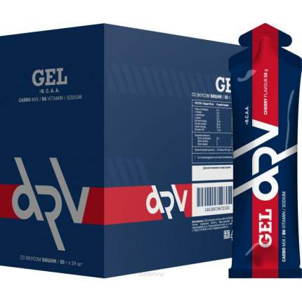 ATech Энергетический гель DRV caffeine+taurine вишня 50 гр