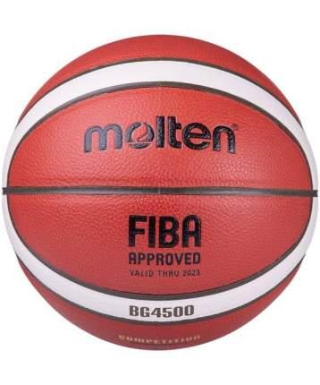 Баскетбольный мяч Molten BG4500 №7 коричневый/бежевый