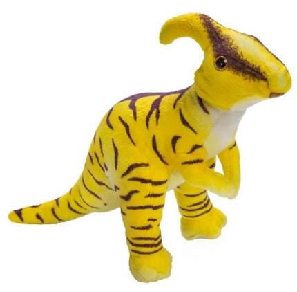 """Мягкая игрушка """"Динозавр Паразауралоф"""", 23 см (желтый)"""