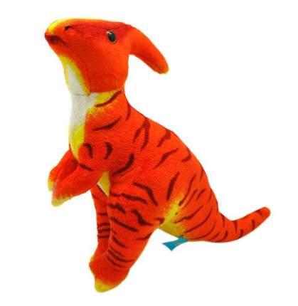 """Мягкая игрушка """"Динозавр Паразауралоф"""", 23 см (оранжевый)"""