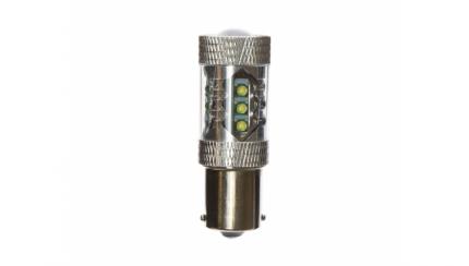 Автолампа светодиодная CARCAM P21W-1156-80W белый свет