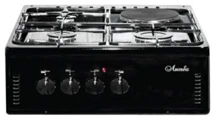 Настольная газовая плитка Лысьва ПГЭН 1/3г6 М Black