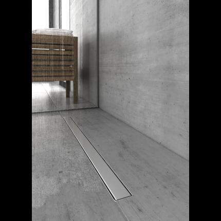 Душевой лоток Berges Wasserhaus B1 Keramik 600 боковой выпуск (09 01 17)