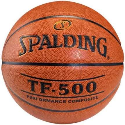 Баскетбольный мяч Spalding TF-500 Performance №7 коричневый/черный